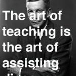 onderwijzen is een kunst